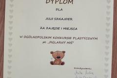 """Ogólnopolski konkurs plastyczny """"Figlarny Miś"""""""